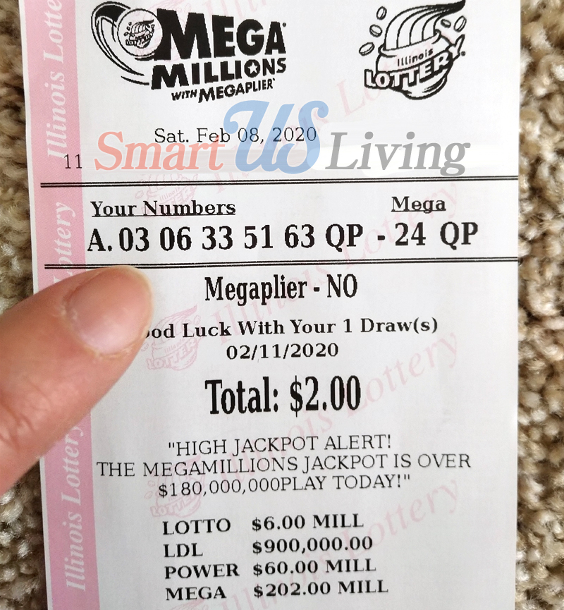 Mega Millions Illinois Lottery