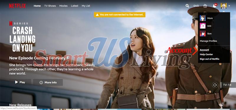 미국에서 넷플릭스 한국어 설정 – 가족간에 언어 설정 달리하기