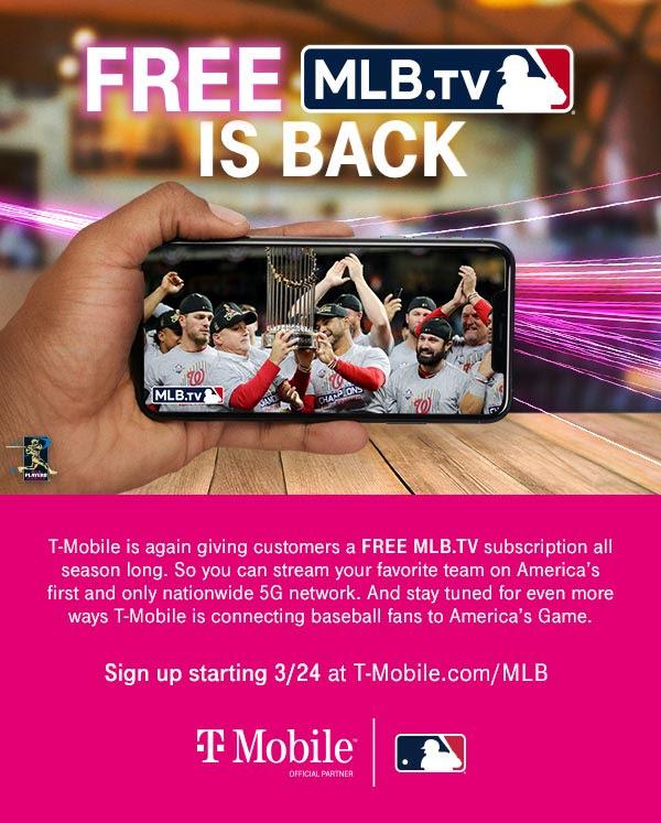 [업데이트] COVID-19로 시즌 불투명 – 올해도 어김없이 돌아온 티모빌 무료 MLB.TV 딜!!!
